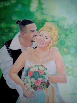 Picturi cu potrete/nuduri Iubire eterna.