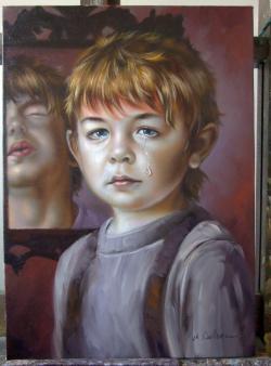 Picturi cu potrete/nuduri Lacrima dracus