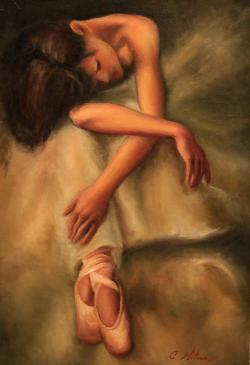 Picturi cu potrete/nuduri LOVE FOR DANCE