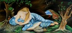 Picturi cu potrete/nuduri Maria magdalen