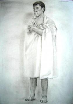 Picturi cu potrete/nuduri Nud 1'