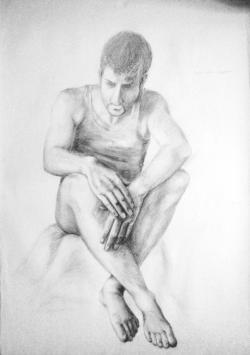 Picturi cu potrete/nuduri Nud 2'