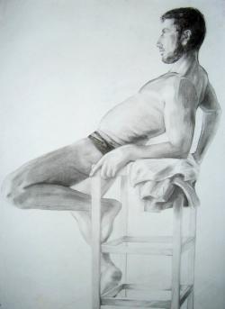 Picturi cu potrete/nuduri Nud 3'