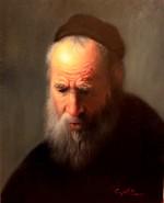 Picturi cu potrete/nuduri Portret batran