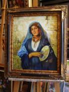 Picturi cu potrete/nuduri Portret de tig