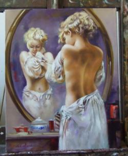 Picturi cu potrete/nuduri Seminud in ogl