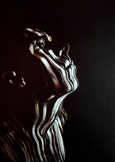 Picturi cu potrete/nuduri Solitudine