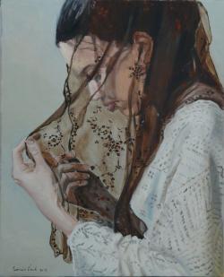Picturi cu potrete/nuduri Voalul transpa