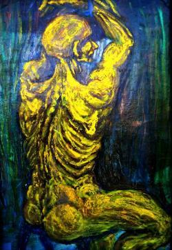 Picturi cu potrete/nuduri  YELLOW LOVE S