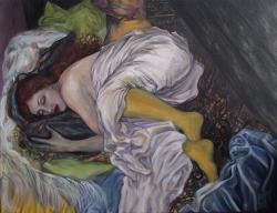 Picturi cu potrete/nuduri YOUNG GIRL ASL
