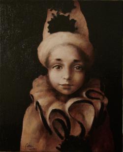 Picturi cu potrete/nuduri Zambet de arle