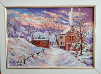 Picturi de iarna Ca-n povesti