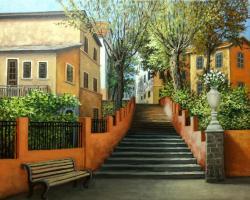 Picturi de primavara citadina franceza,