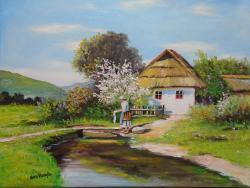 Picturi de primavara primavara la sat va