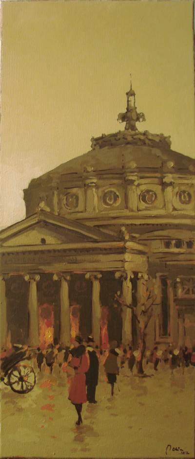 Picturi de toamna ''La Ateneu''