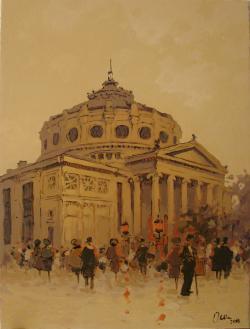 Picturi de toamna Prin vechiul Bucuresti