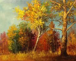 Picturi de toamna soare printre nori 201