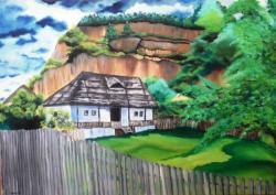 Picturi de vara Casuta mamei Uta- Corbii