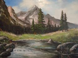 Picturi de vara Creste ..Peisaj de munte