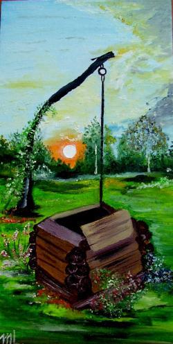"""Picturi de vara 'La fantana dorului"""""""