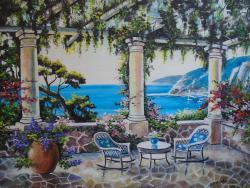 Picturi de vara pictura mediteraneana 4