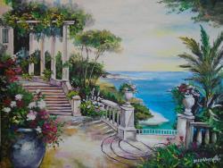 Picturi de vara Pictura mediteraneana 5