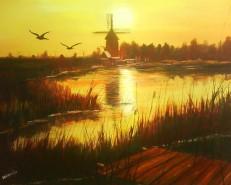 Picturi de vara Undeva in romania-delta
