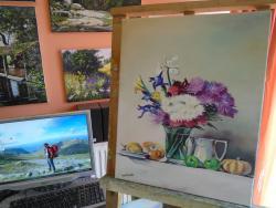 Picturi decor decor flori fructe tartacu