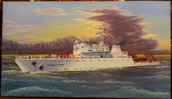 Picturi maritime navale Grigore Antipa (