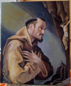 Picturi religioase Sf. Francisc De Assis