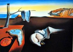 Picturi surrealism The Persistence of Me