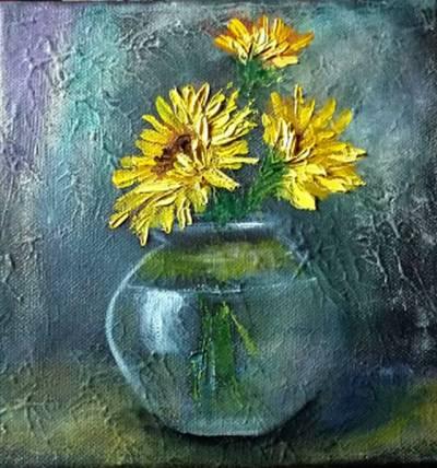 Poza 3 flori in cautare de soare