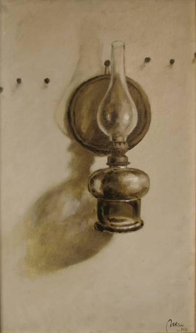 Poza Amintiri ,vechea lampa