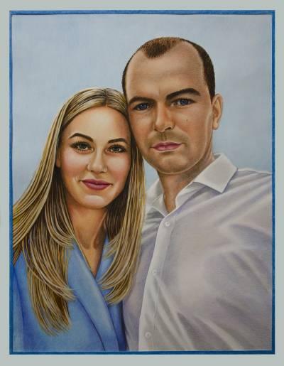 Poza Andrei si Maria