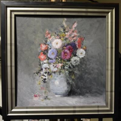 Poza Aranjament floral (cu rama)