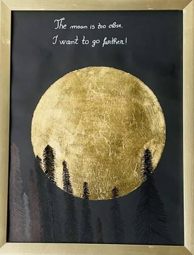 Poza Art Print foita de aur