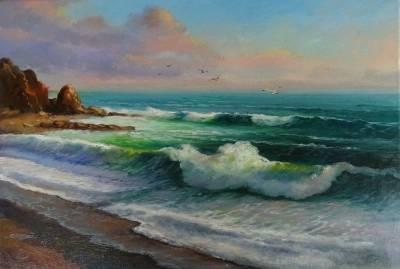 Poza asfintit pe mare 2