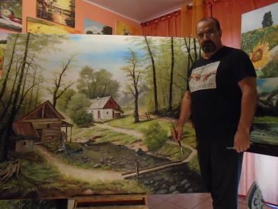 Poza Atelier..Peisaj de vara ...Catun la