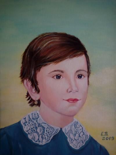 Poza Autoportret..copilarie