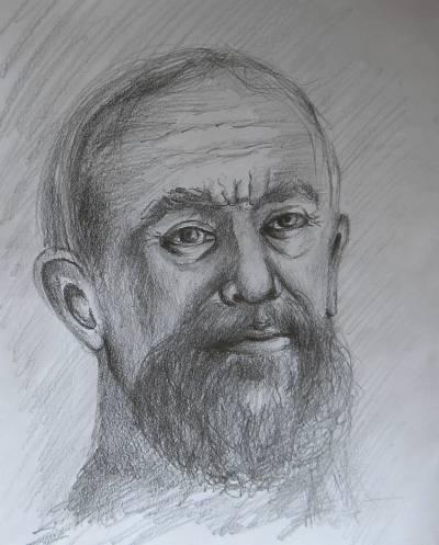Poza barbat cu barba 2