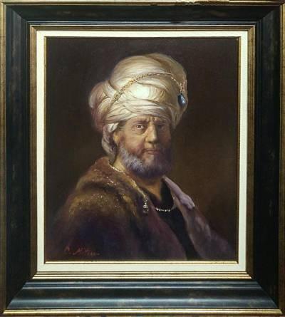 Poza Barbatul cu turban
