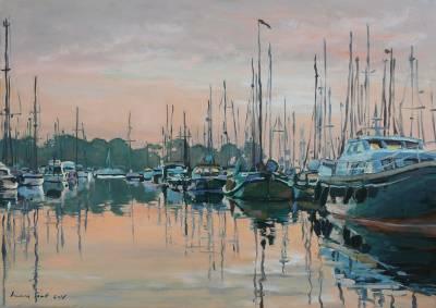 Poza Barci in port