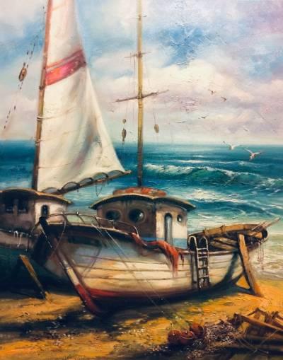 Poza barci pescaresti