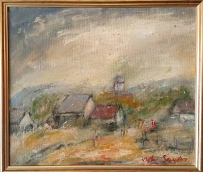 Poza Biserica Satului