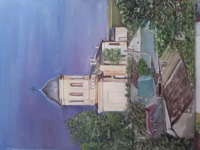 Poza Biserica ,,Sf. Voievozi Mihail si G