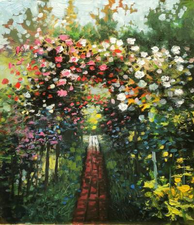 Poza Bolta de trandafiri