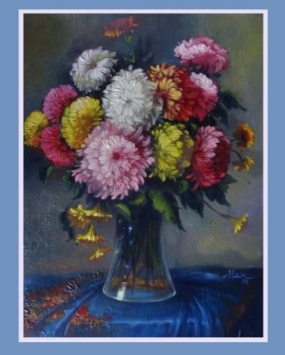 Poza buchet de crizanteme 9