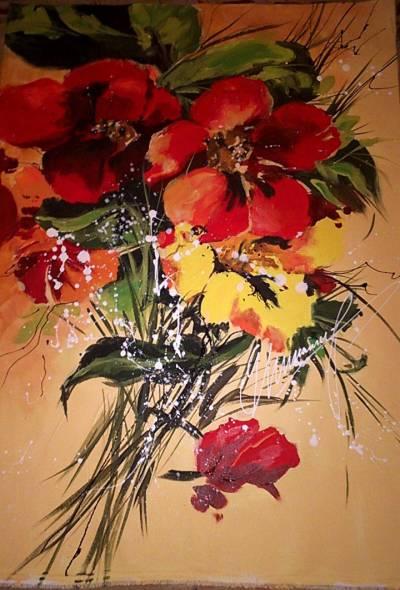 Poza buchet de flori