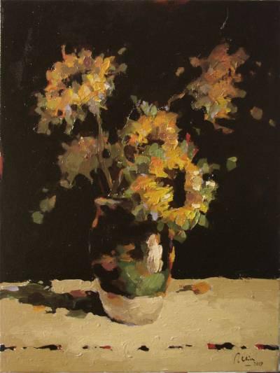 Poza cana cu floarea soarelui