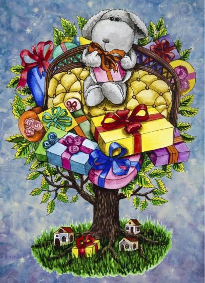 Poza Copacul cu cadouri